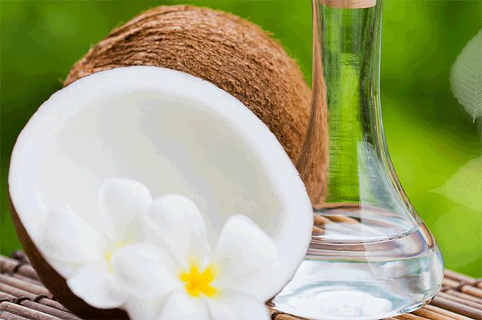 как наносить масло кокоса на волосы