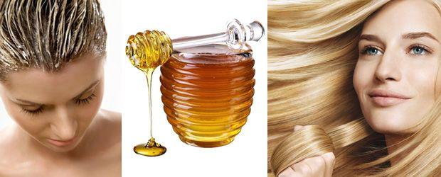 маска для волос из мёда и яйца