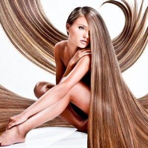 Модель ламинированных волос