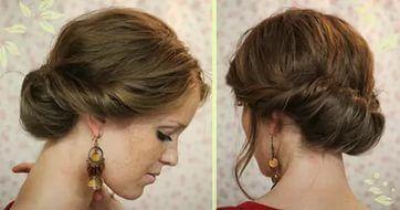 ежедневные укладки на средние волосы