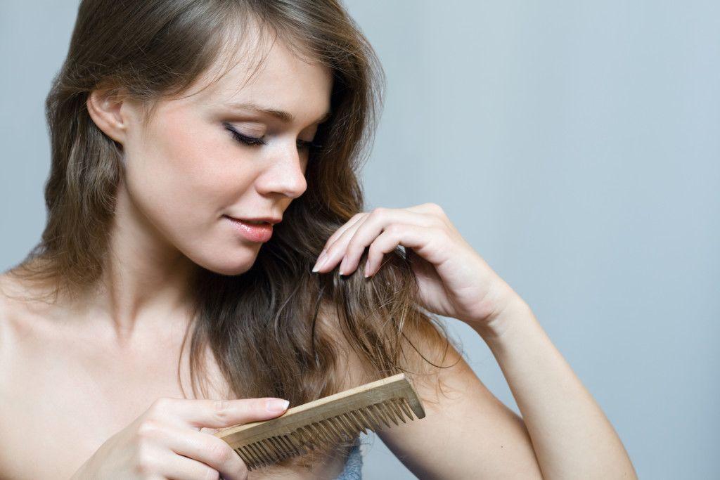 Эфирное масло против выпадения волос и для роста