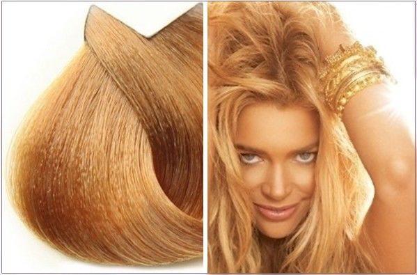 Карамельные и медовые оттенки волос фото