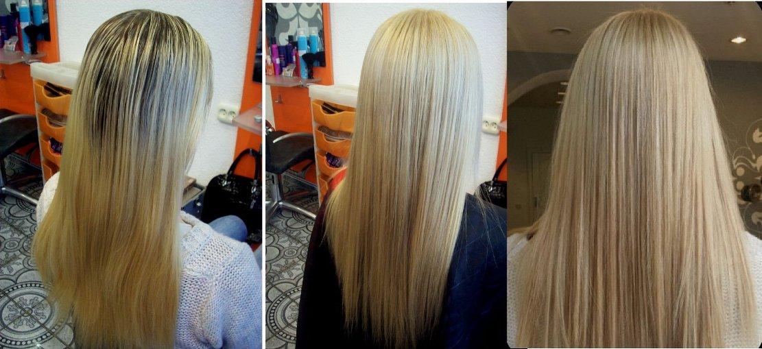 Тонировать краской волосы после мелирования