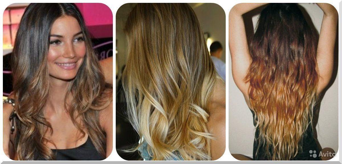 Красивое окрашивание блонд на короткие волосы