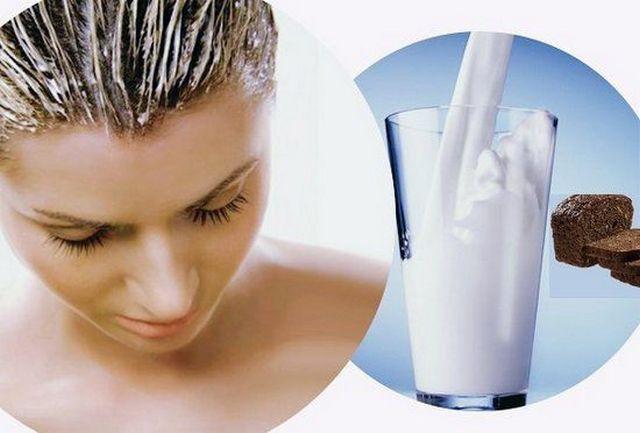 Молоко от выпадения волос
