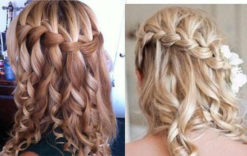 Красивые косички фото на средние волосы