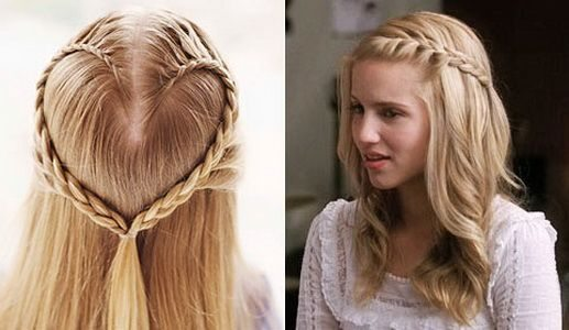 Прическа в школу на длинные волосы своими