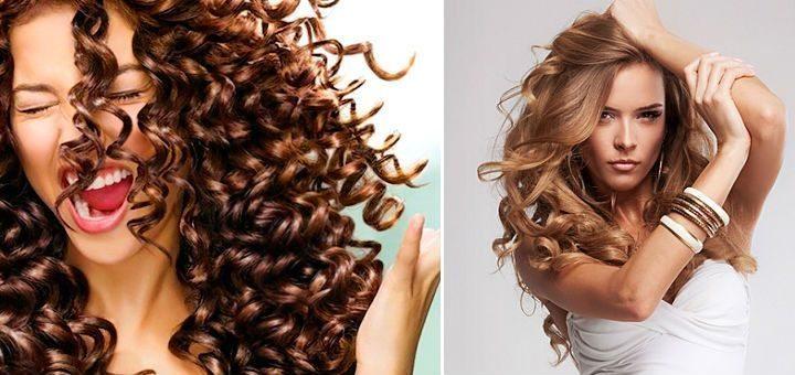 Завивка волос на длительное