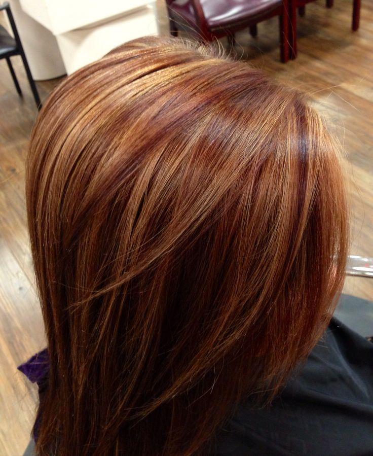 КАК СОЗДАТЬ Карамельный оттенок волос