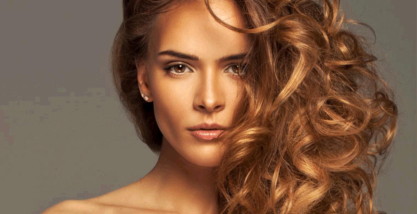 Карамельный оттенок волос