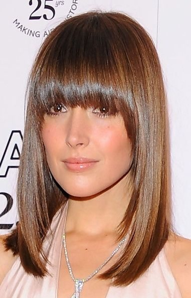 Haircuts with bangs and layers