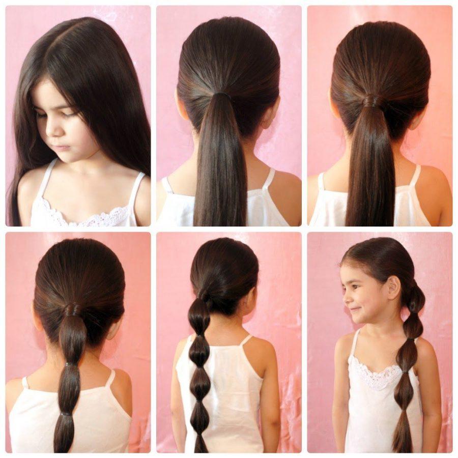 Удобные прически для длинных волос на каждый день