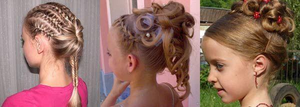 Самые красивые прически для 10 летних девочек