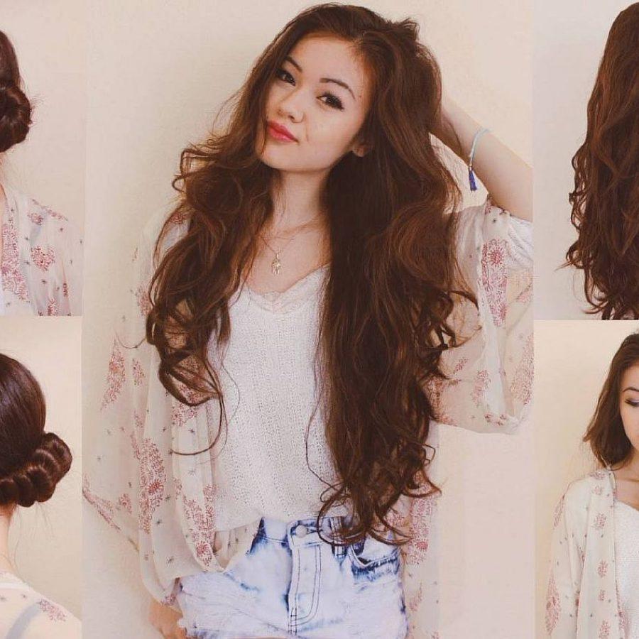 Как красиво завить волосы