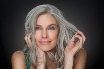 Как осветлить седые волосы