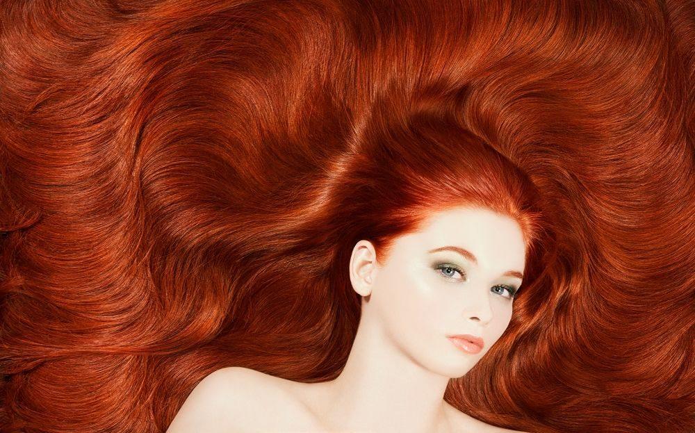 Рыжие волосы на лобке видео