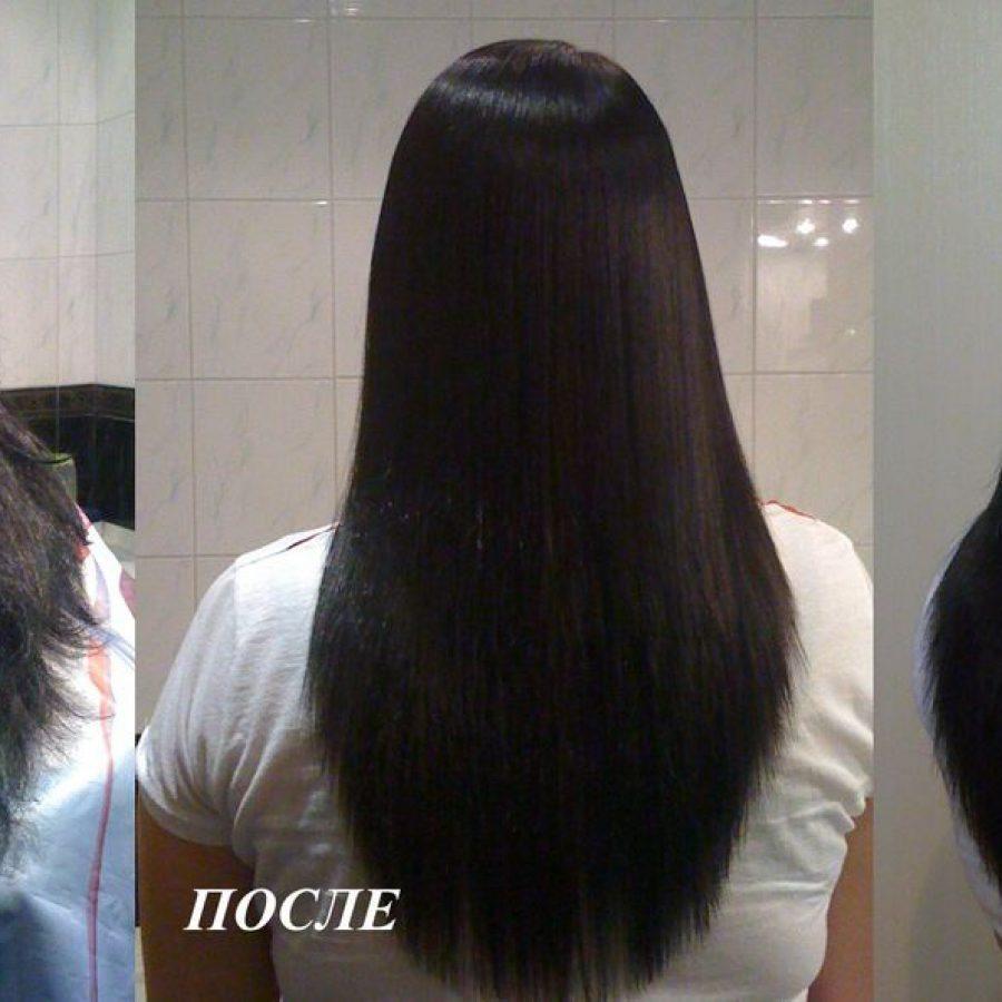 Выпрямление волос кератиновое био в домашних условиях