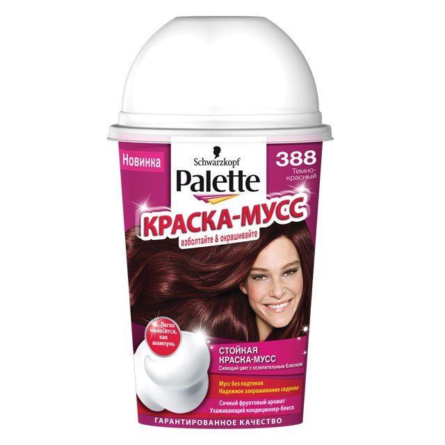 Краска пенка для волос