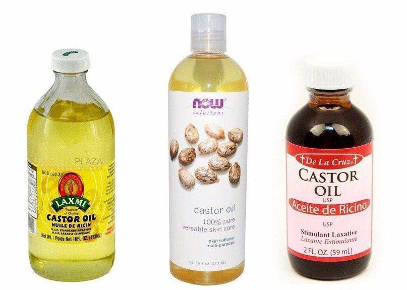 Касторовое масло для волос способ применения