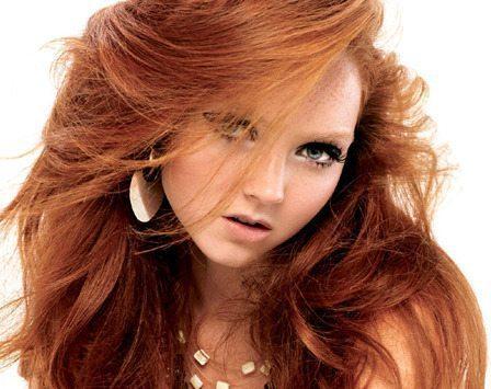Обладательницы рыжих волос