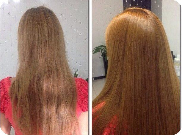 Покраска волос хной в домашних условиях - безопасно, красиво