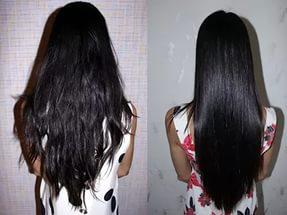 Ламинирование поврежденных волос