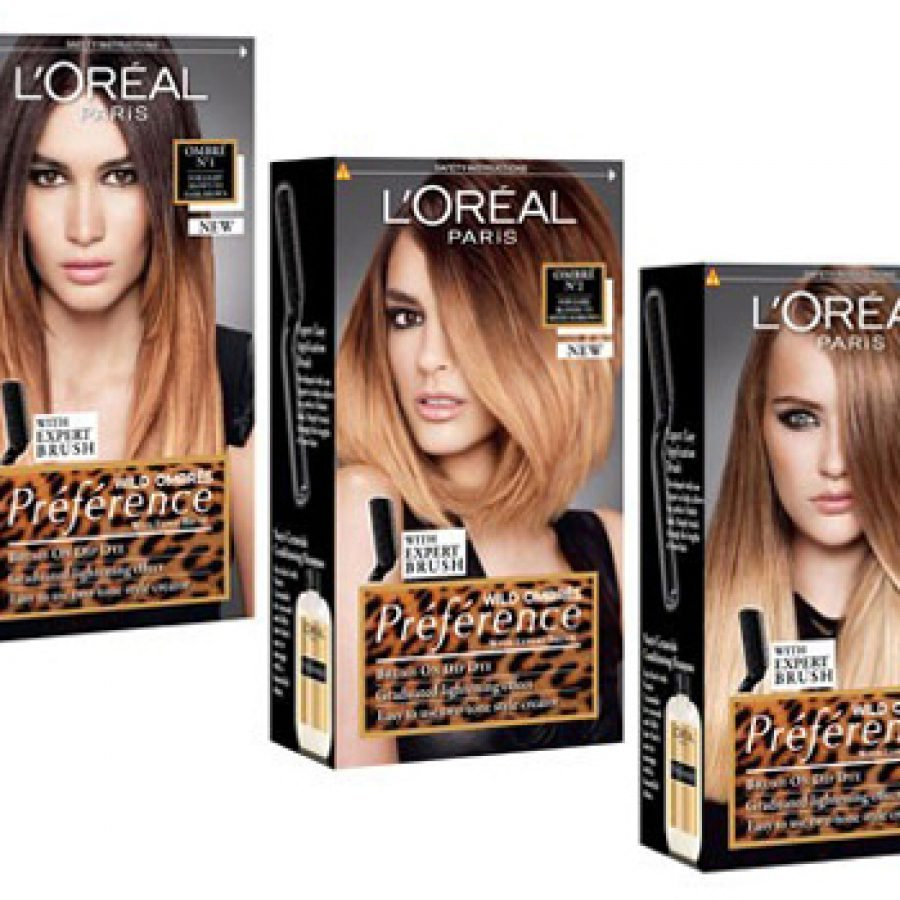 loreal hombre L'oreal paris's newest hair color shades in its superior preference paris, healthy look crème gloss, excellence crème, and feria red launch in drugstores nationwide february 2013.