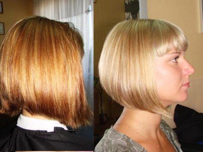 можно ли красить волосы после смывки