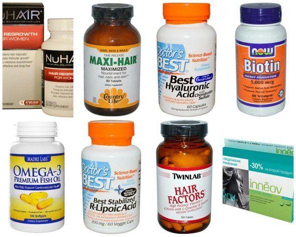Какие витамины в лучше пить для волос