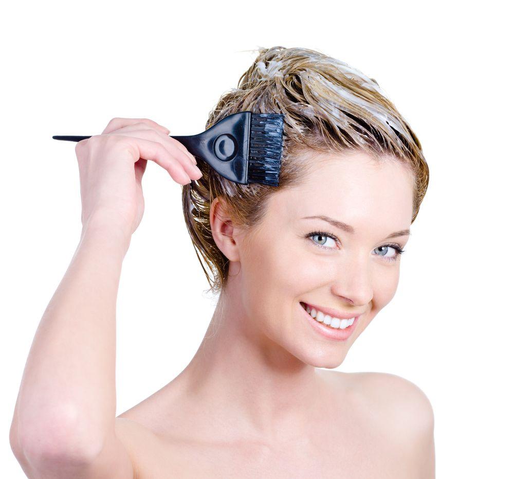Краска для седых волос в домашних условиях