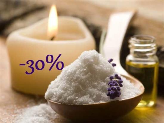 Солевой скраб для кожи головы