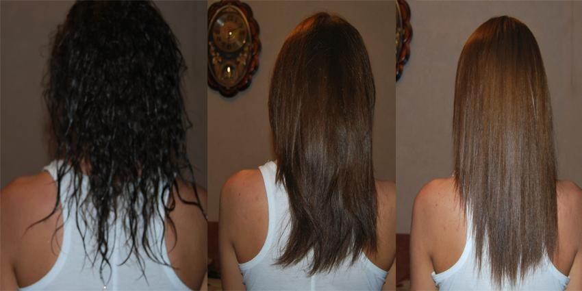 Как покрасить волосы после смывки?