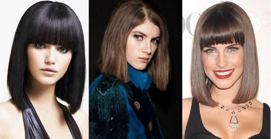 Модные прически на среднюю длину волос 2016 фото