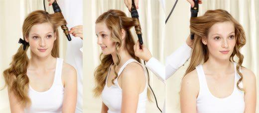 Как на плойку накрутить волосы