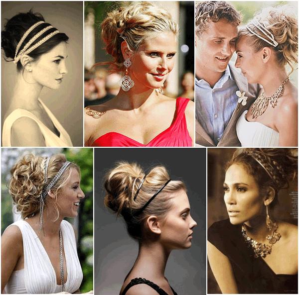 Модные причёски в греческом стиле
