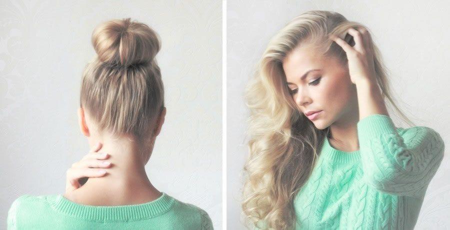 Как накрутить волосы без бигуди и плойки фото 47-261