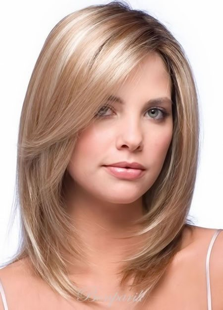 Причёски на редкие средние волосы