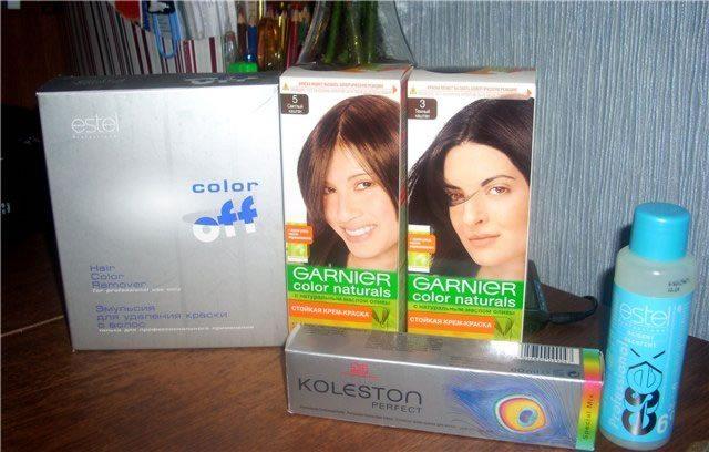 Как смыть краску для волос в домашних