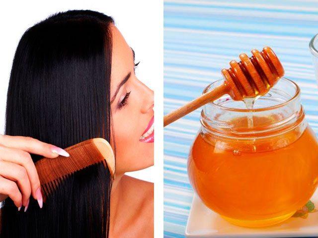 Для густоты волос используются домашние лечебные маски с медом