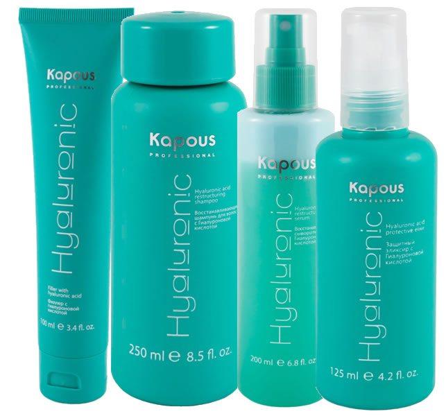 Kapous восстанавливающий шампунь с гиалуроновой кислотой