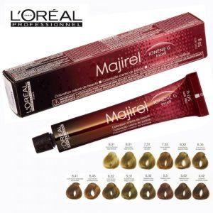 Краска лореаль majirel также очень эффективна для насышенного цвета
