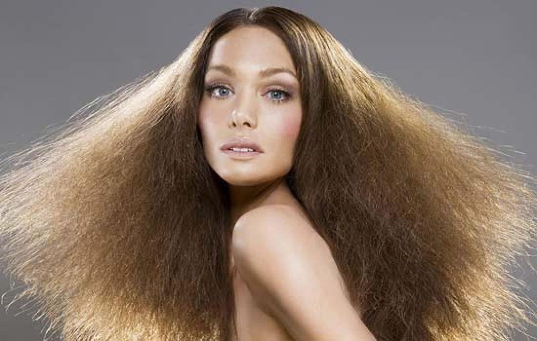 Поврежденные волосы для современной девушки