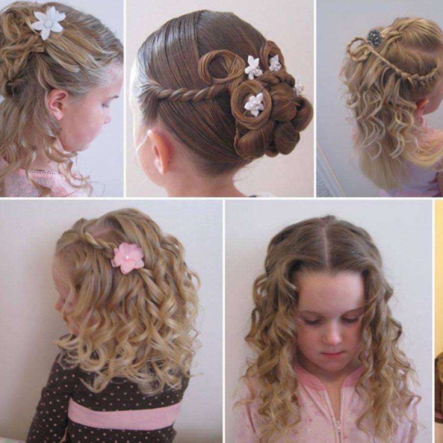 Прически для девочек с короткими волосами