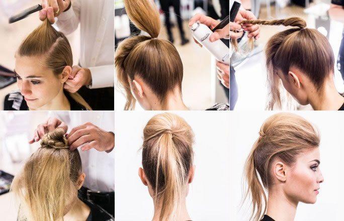 Укладка на тонкие волосы средней длины