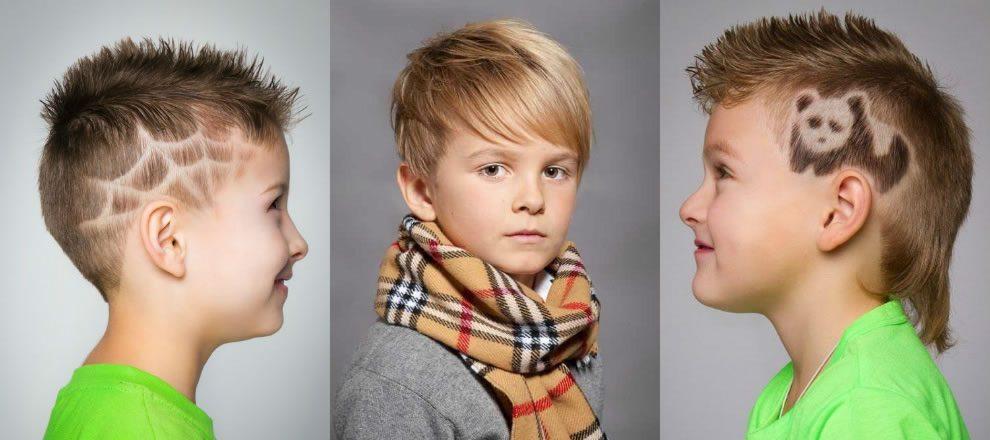 Модные прически для мальчиков короткие волосы
