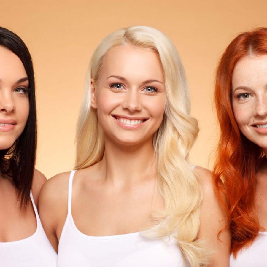 Выбор цвета волос в зависимости от внешности
