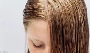 Жирная кожа головы