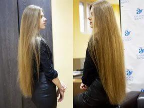 Сколько волос растёт в месяц