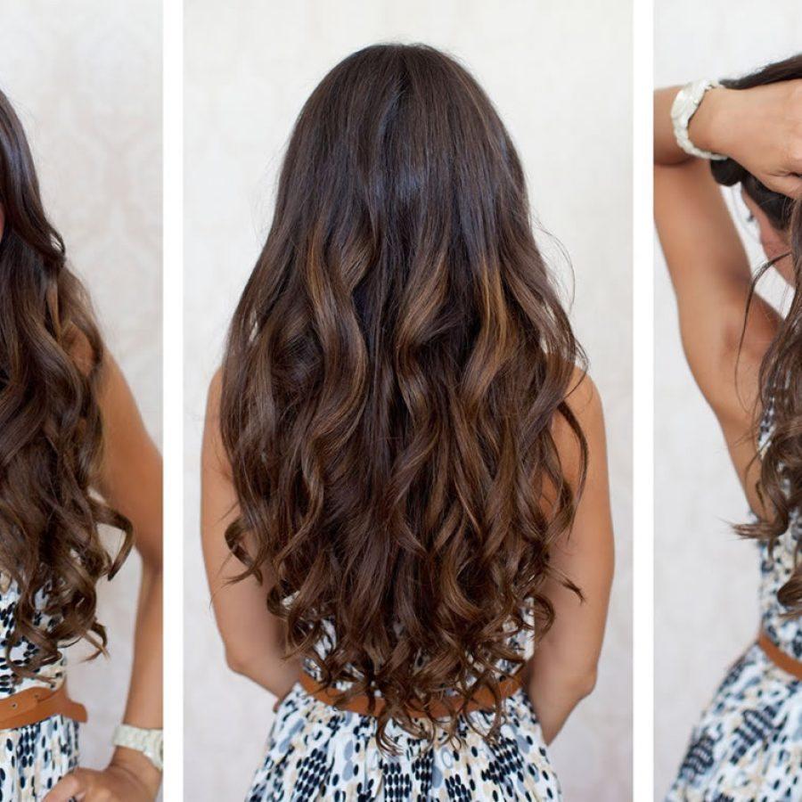 Завить волосы на бигуди