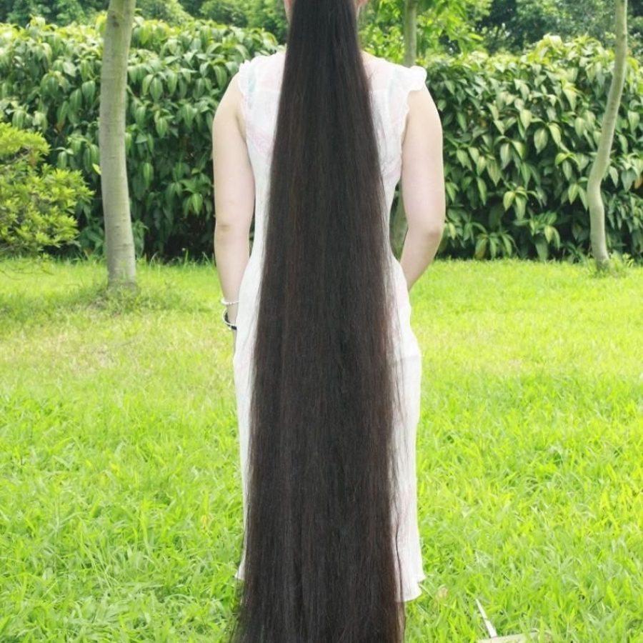 Длина волос у девушки